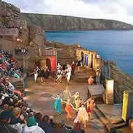 A Performance at the Minack open air theatre