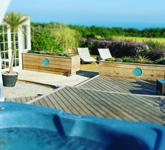 The Dovecote Private Hot Tub